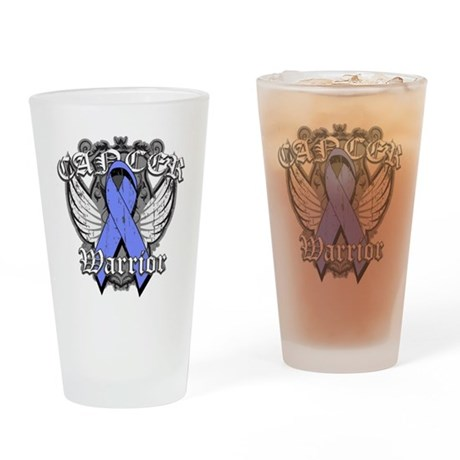 Esophageal Cancer Warrior Pint Glass
