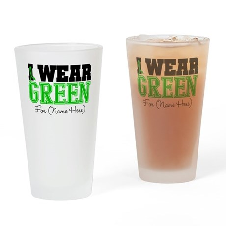 Custom Bile Duct Cancer Pint Glass