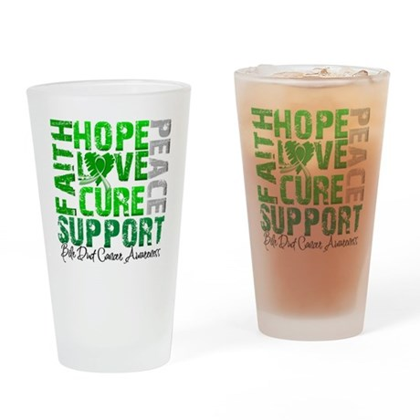 Hope Bile Duct Cancer Pint Glass