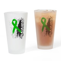 Survivor Bile Duct Cancer Pint Glass