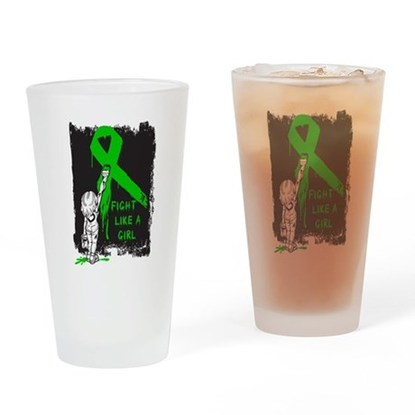 Graffiti FLAG Bile Duct Cance Pint Glass