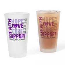 Hope General Cancer Pint Glass