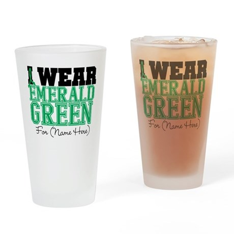 Custom Liver Cancer Pint Glass