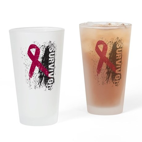 Survivor Multiple Myeloma Pint Glass