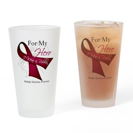 Myeloma For My Hero Pint Glass