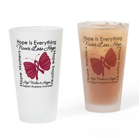 Hope is Everything Myeloma Pint Glass