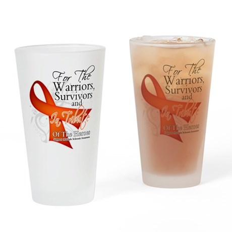Tribute Multiple Sclerosis Pint Glass