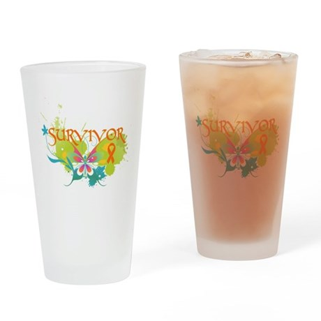 Survivor Multiple Sclerosis Pint Glass