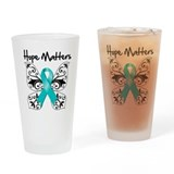 Hope Matters Ovarian Cancer Pint Glass