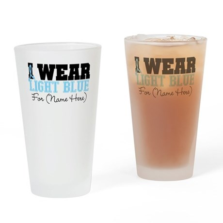 Custom Prostate Cancer Pint Glass
