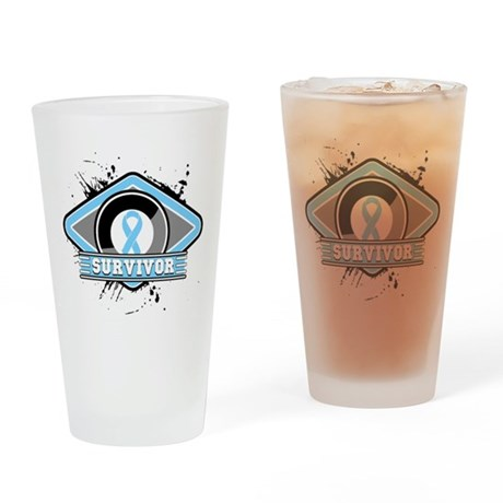 Prostate Cancer Survivor Pint Glass