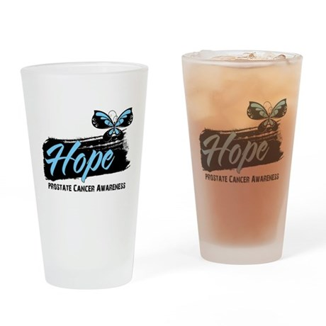 Hope - Prostate Cancer Pint Glass
