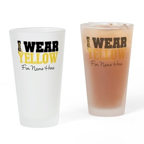 Custom Sarcoma Pint Glass