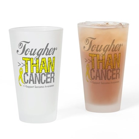 Tougher Than Cancer Pint Glass