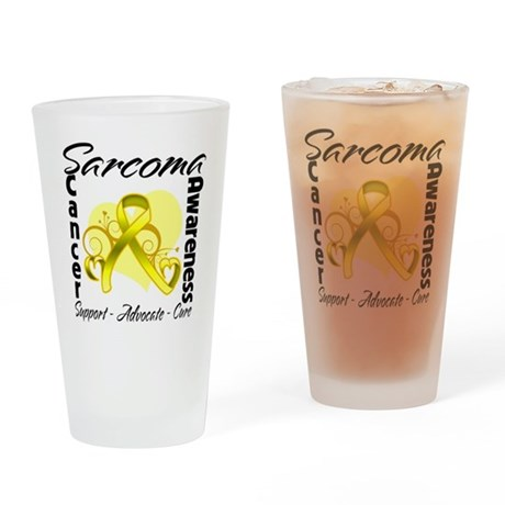 Sarcoma Awareness Pint Glass
