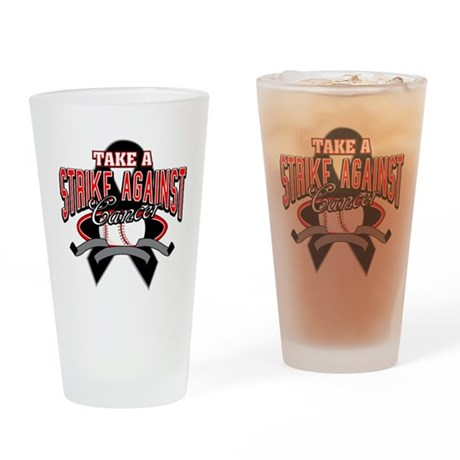 Take a Strike Skin Cancer Pint Glass