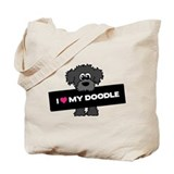 Labradoodle Tote Bag