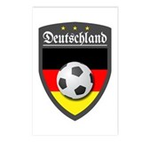 Germany (Deutsch) Ball Postcards (Package of 8)