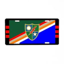 3rd Ranger Battalion Aluminum License Plate