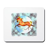 moon horse Mousepad