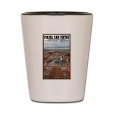 St. Peter's Square Shot Glass