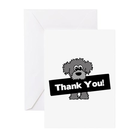 Goldendoodle Greeting Cards Greeting Cards (Pk of