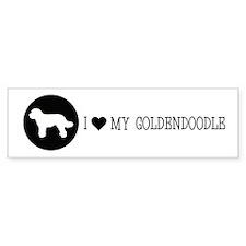 Love My Doodle Bumper Sticker Bumper Sticker
