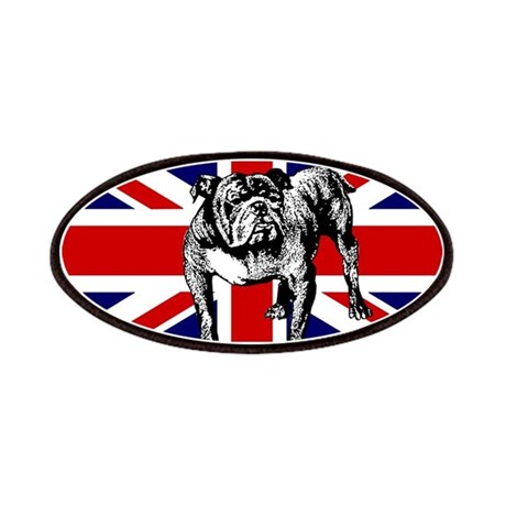 British Bulldog Flag Patches