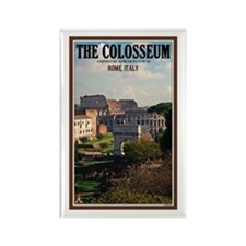 Forum View of Colosseum Rectangle Magnet