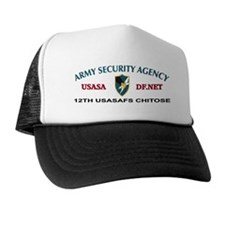 12th USASA Field Station Trucker Hat