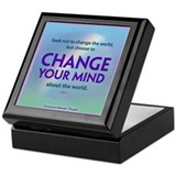 ACIM-Seek Not to Change the World Keepsake Box
