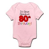 Great Grandma's 80th Birthday Onesie