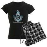 The Masonic Shop Logo Women's Dark Pajamas