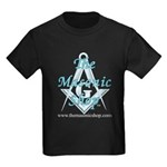 The Masonic Shop Logo Kids Dark T-Shirt