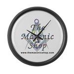 The Masonic Shop Logo Large Wall Clock