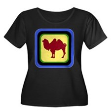 Retro Bactrian Camel T