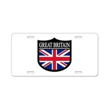 Great Britain Patch Aluminum License Plate