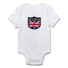 Great Britain Patch Infant Bodysuit