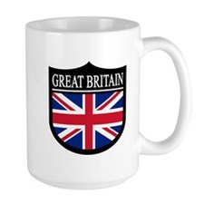 Great Britain Patch Coffee Mug