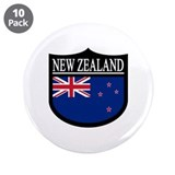 "New Zealand Patch 3.5"" Button (10 pack)"