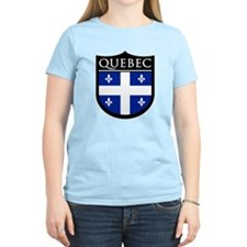 Quebec Flag Patch T-Shirt