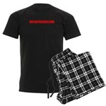 HIPHOPHEROIN MERCHANDISE Men's Dark Pajamas