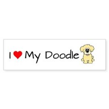 Cute Doodles Bumper Sticker