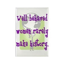 Women Make History Rectangle Magnet