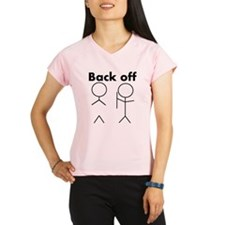 Back off Women's Sports T-Shirt