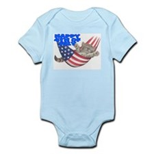 PATRIOTIC Infant Bodysuit