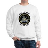 USS Thomas Gates CG 51 Decomm Sweatshirt