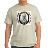USS Vincennes CG 49 Decomm Ash Grey T-Shirt