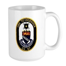 USS Ticonderoga CG 47 Mug
