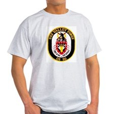 USS Valley Forge CG 50 Ash Grey T-Shirt